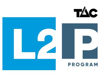 TAC L2P Brandmark Stack Colour RGB